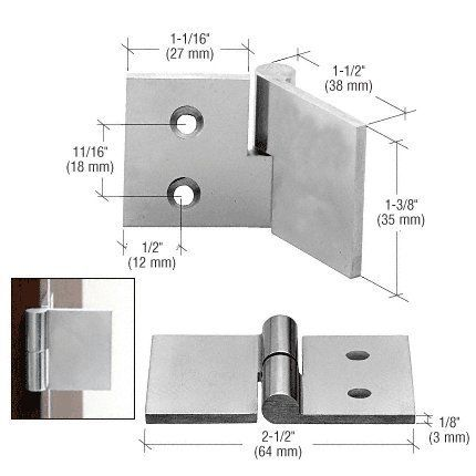 Crl Polished Stainless Uv Bond Rh Glass To Wood Hinge By Cr Laurence By Cr Laurence 29 67 Designed For Wood Cab Glass Cabinet Doors Wood Hinges Panel Siding