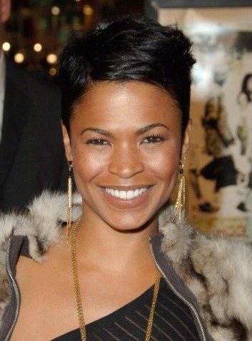 Nia Long Killin Em With That Hair And Smile Nia Long Short Hair Nia Long Long Hair Styles