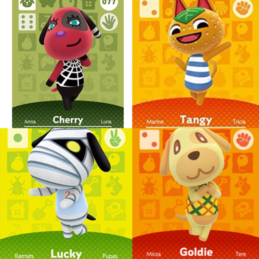 These Are All Of My Animal Crossing Amiibo Cards Depop Animal Crossing Amiibo Cards My Animal Animal Crossing