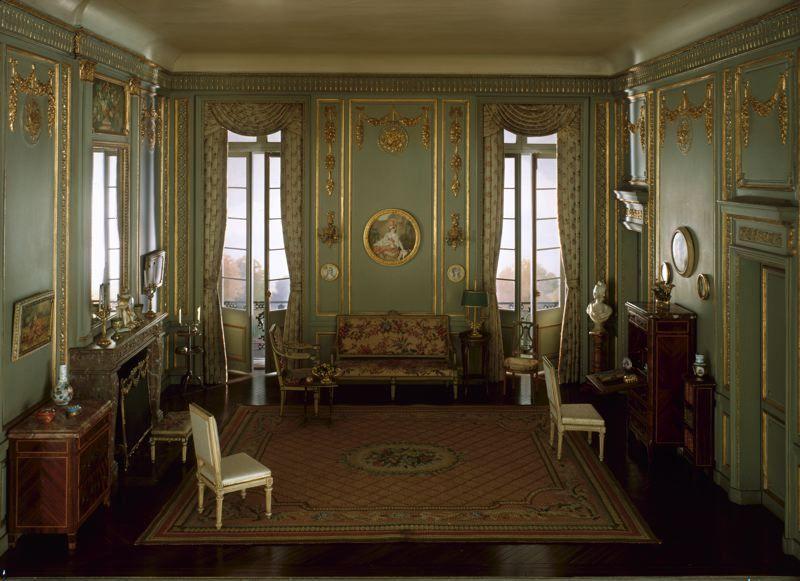 Rooms: E-24: French Salon Of The Louis XVI Period, C. 1780