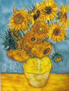 Los girasoles de Van Gogh Medidas: 29×37 cm. Precio: $398 (Mexico ...