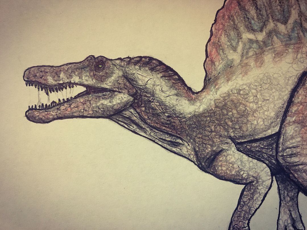 Spinosaurus is done! TRex vs Spino 1/3 spino