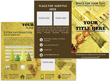 e brochure templates