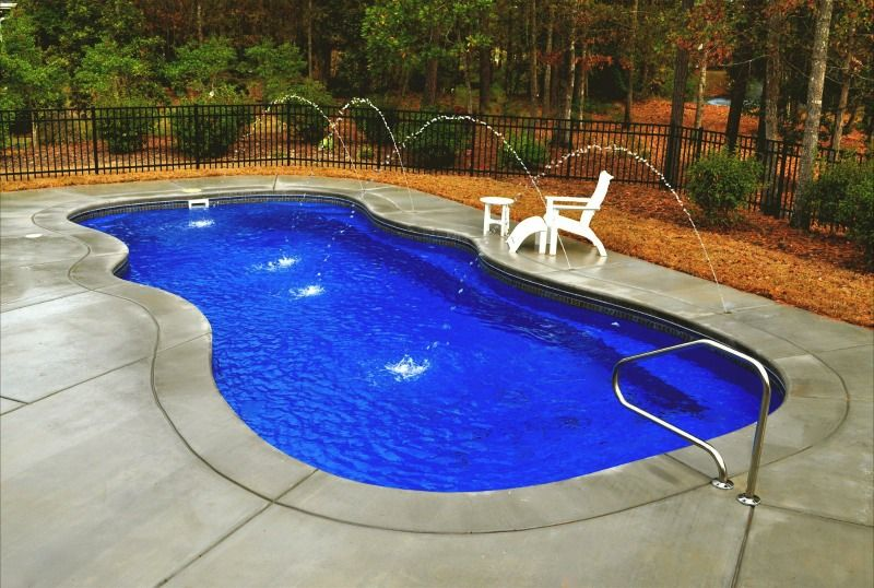 Small And Medium Saltwater Pools Pictures Small Medium Up To