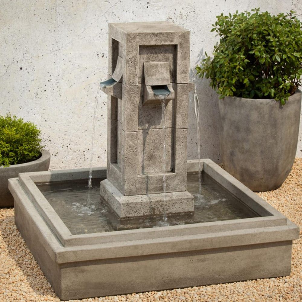 Pallisades garden water fountain water fountains for Garden fountains phoenix