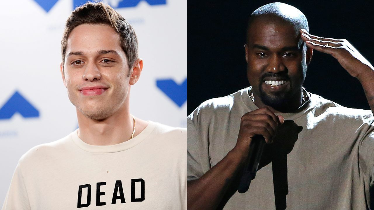Pete Davidson And Kanye West Seen Hanging Out Following Snl Pro