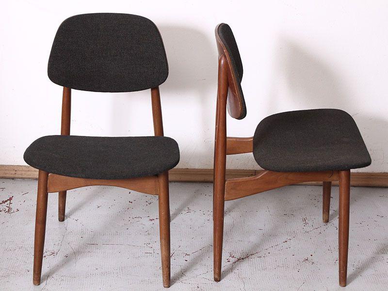 Sedie Depoca : Coppia sedie ico parisi ico parisi chairs vintage chairs