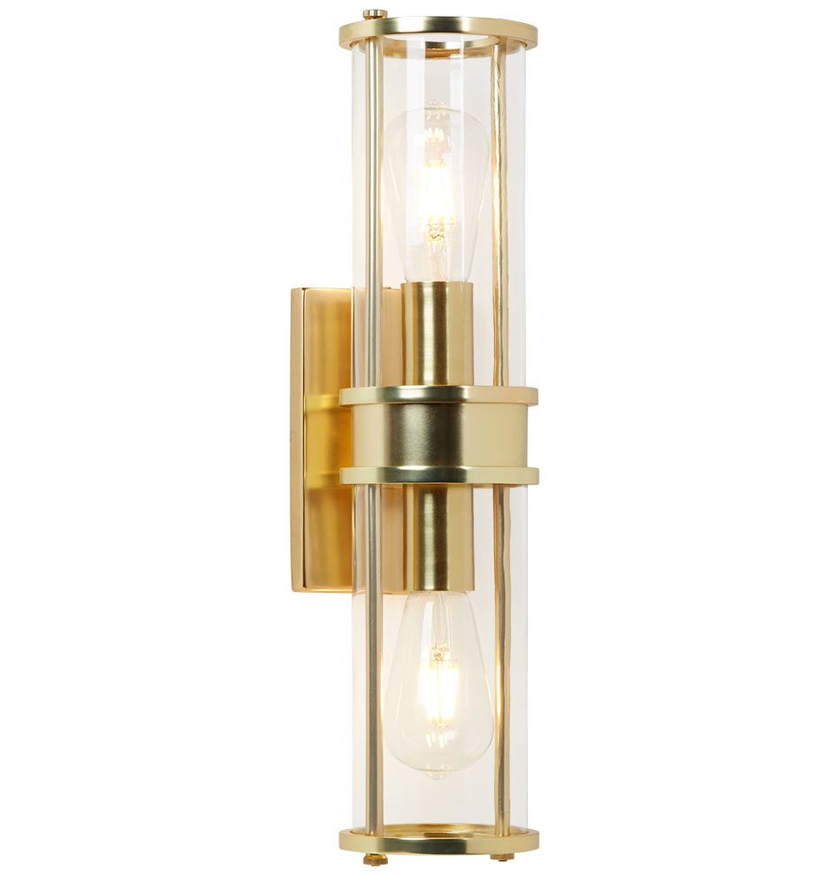 Yeon double sconce lights bath and master bathrooms yeon double sconce aloadofball Gallery