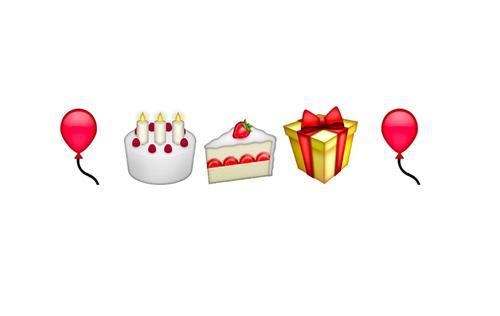 Mi Cumpleanos Es Dos De Augusto Birthday Cake Happy Emoji