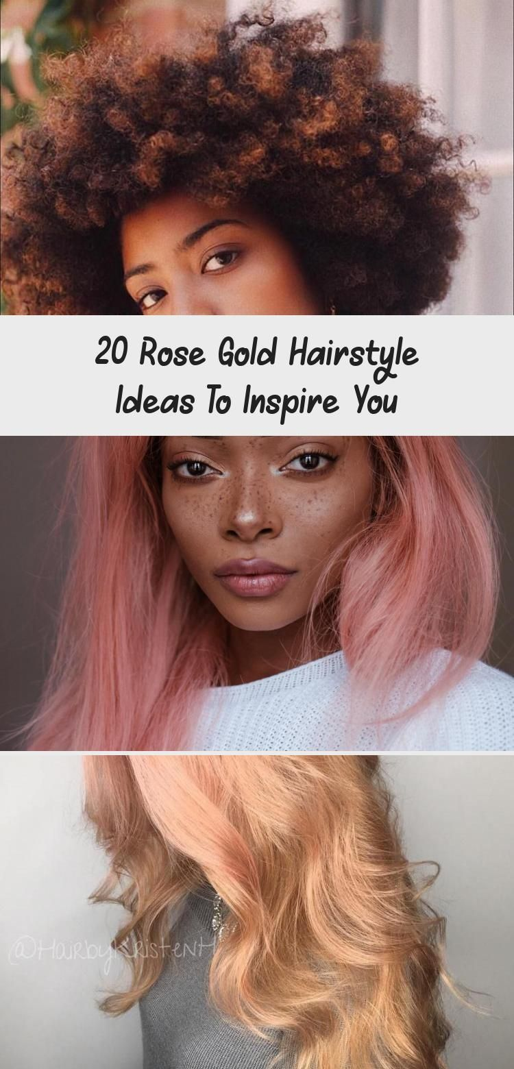 Photo of The 20 rose gold hairstyle idea below includes both short and long hair. #LongHa…