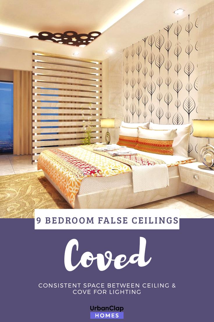 False Ceiling Designs For Small Rooms: False Ceiling Designs For Bedrooms: 9 Ideas You Will Love