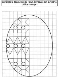 Cahier de vacances de Printemps symétrie ce1 ce2 (avec ...
