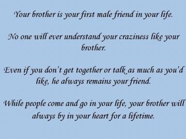 Love for your brother quotes