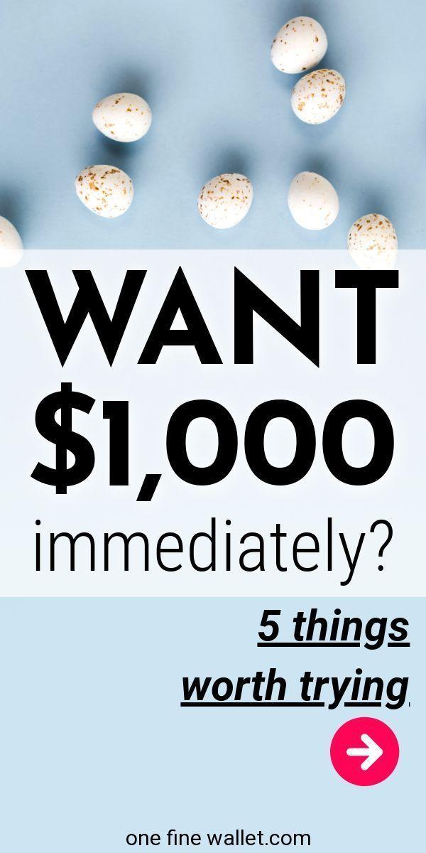 7 REAL Ways To Make Quick Money Online Money Pinterest