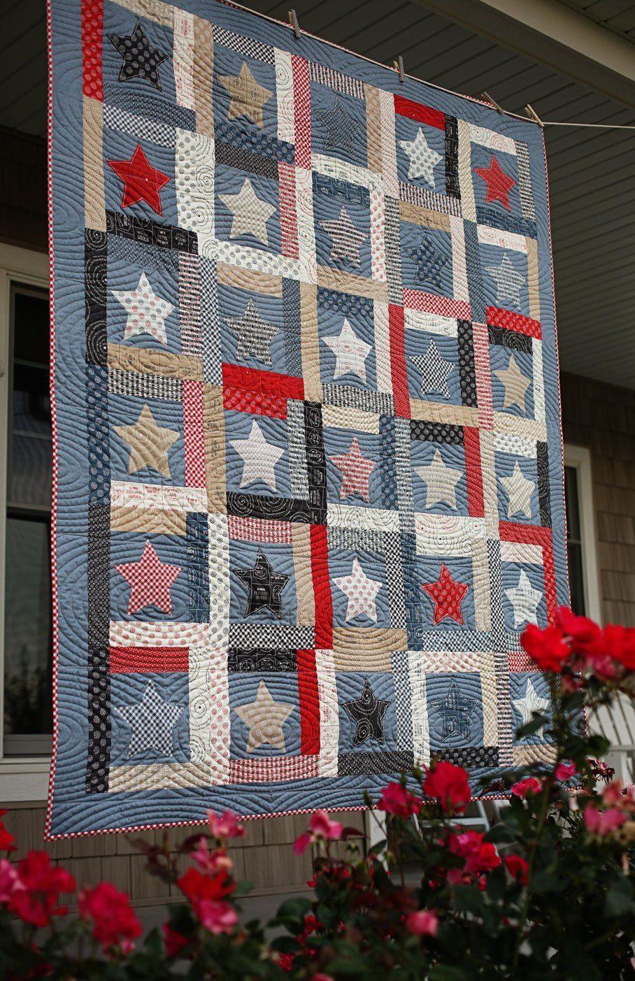 Patriotic quilts quilts blue quilts