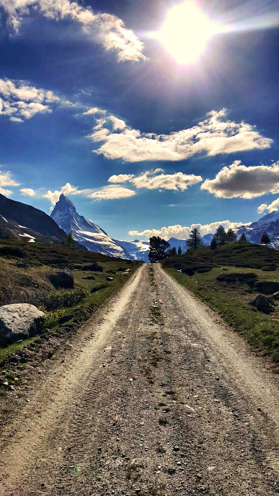 Mountain Biking in Zermatt - Matterhorn: Kickbike Sunnegga: Kickbike, that's the thrilling ride from Sunnegga down to the village of Zermatt. The wind in your hair, spectacular scenery: this is outdoor adventure at its best. #zermatt #matterhorn #switzerland #biking #naturallandmarks