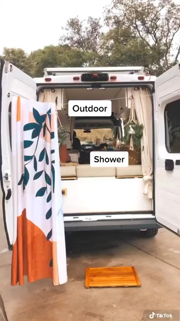 Photo of Outdoor Shower for a Camper Van