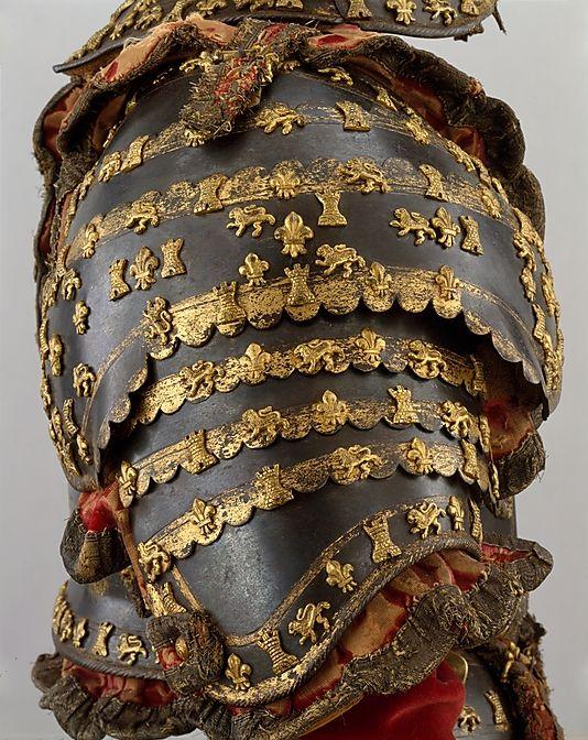 Armadura de Luis I como príncipe de Asturias - España - Siglo XVIII