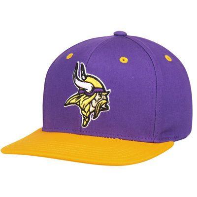 a2aaa6c1 Minnesota Vikings Youth Loyal Snapback Adjustable Hat - Purple/Gold ...