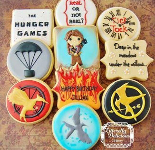 Resultado de imagen de los juegos del hambre cupcakes