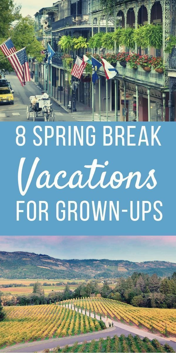 15 Best Spring Break Destinations In The USA: TripHobo