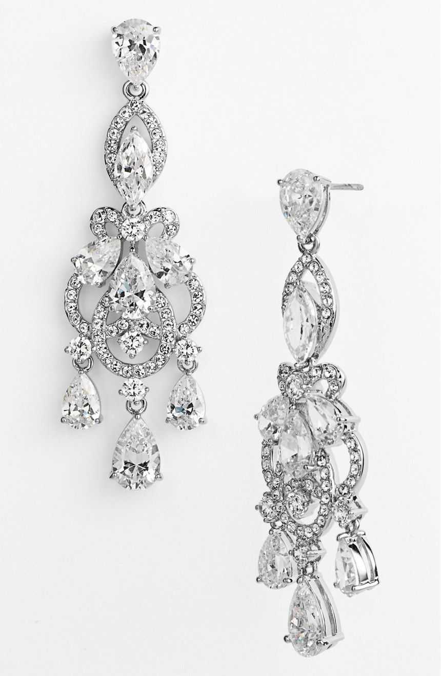 Nadri Legacy Crystal Chandelier Earrings Nordstrom