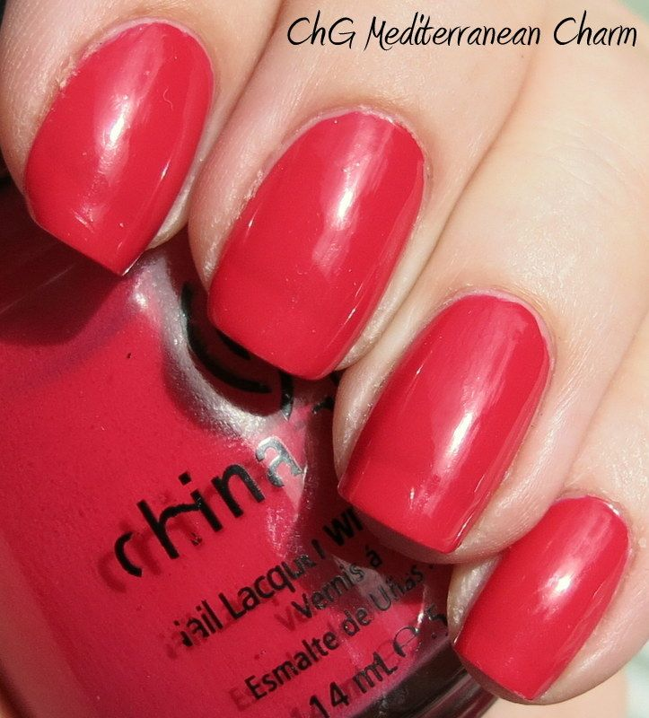 China Glaze Mediterranean Charm Nail Polishes China Glaze Glaze