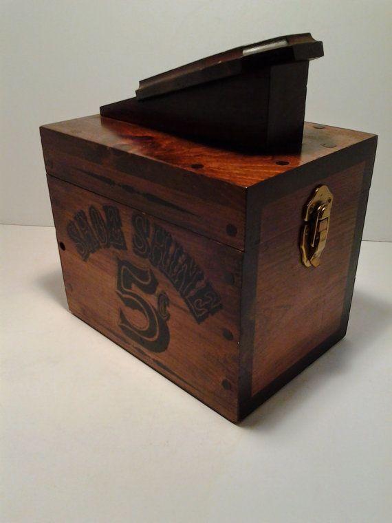 f7fc83b3781 Shoe Shine Box 5 Cent Shoe Shine Box with Brushes by BoardwalkRev