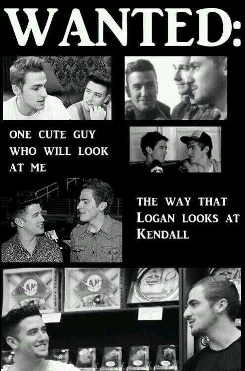 I want this kind of relationship.. And I want LOGAN!! :(