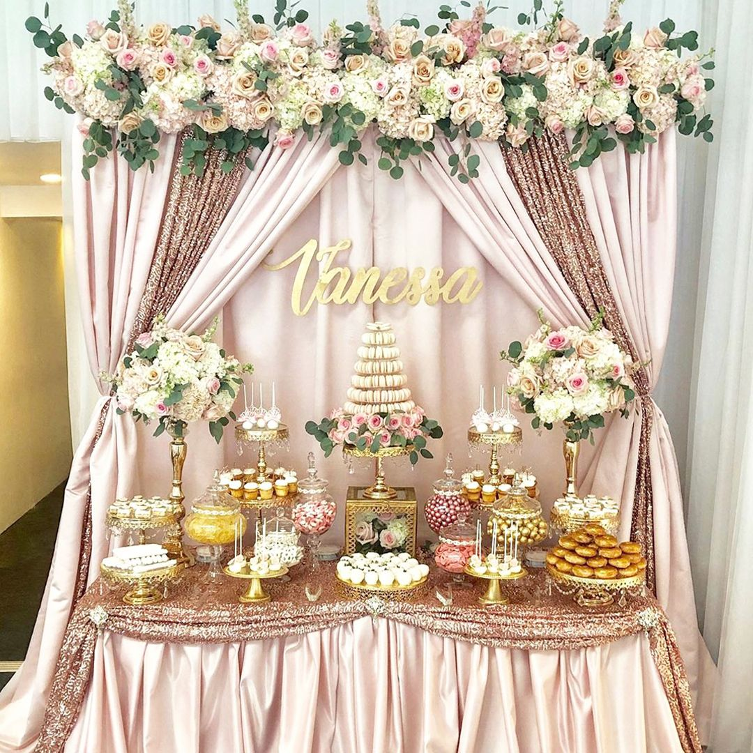12 Inch Shiny Metallic Mirror-Top Cake Stand (Gold Plated)