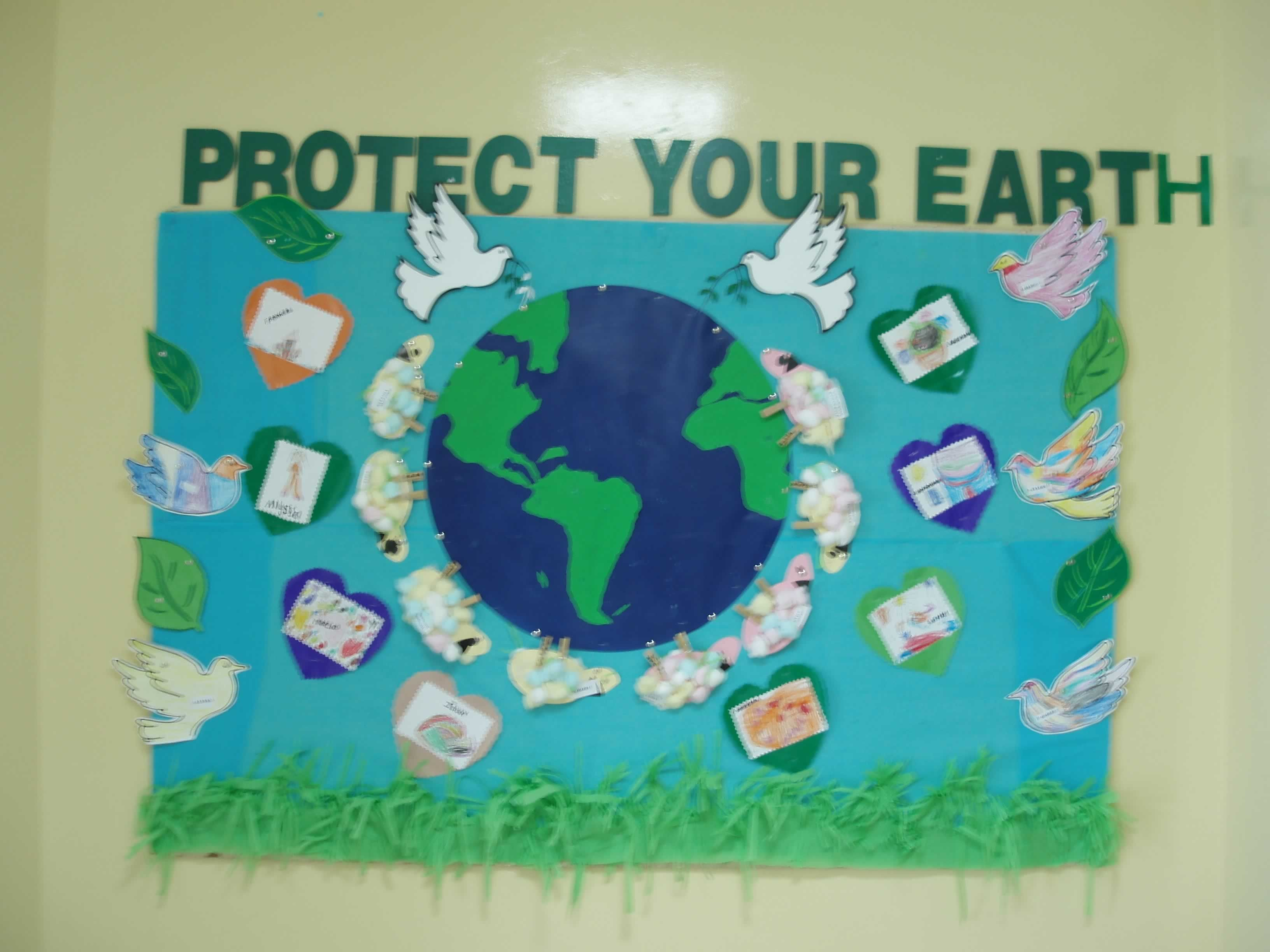 Save Planet Earth Bulletin Board 1 Save Planet Earth Preschool