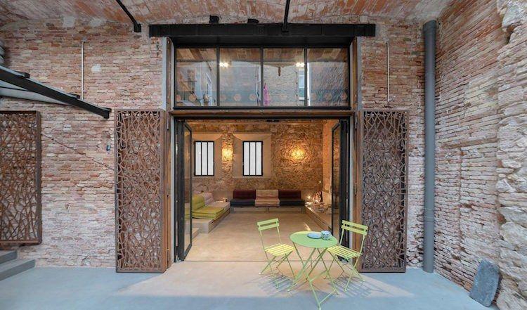Loft Stil überdachte terrasse im loft stil terrasse lofts and