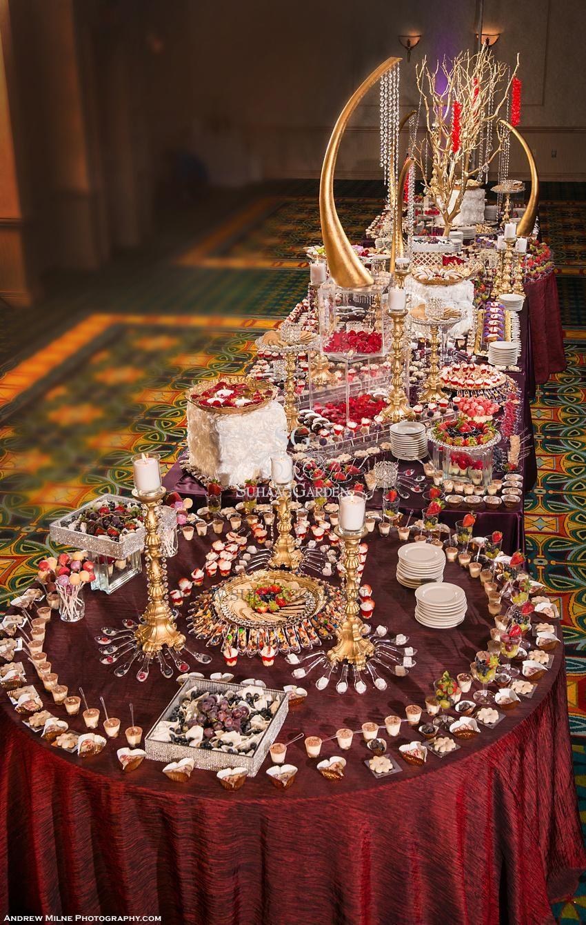 suhaag garden, indian wedding decorator, dessert lounge, dessert