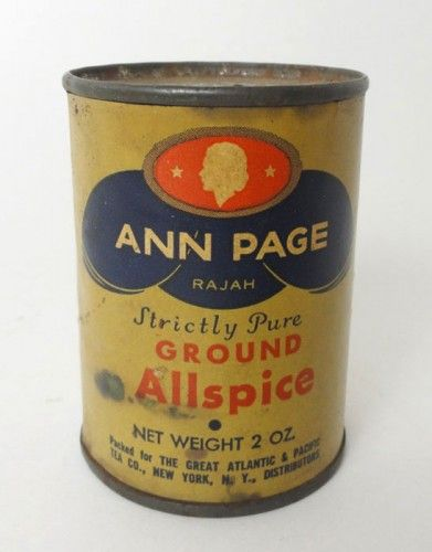 Ground Mace Spice Tin By Kroger One Ounce Year-End Bargain Sale Tins