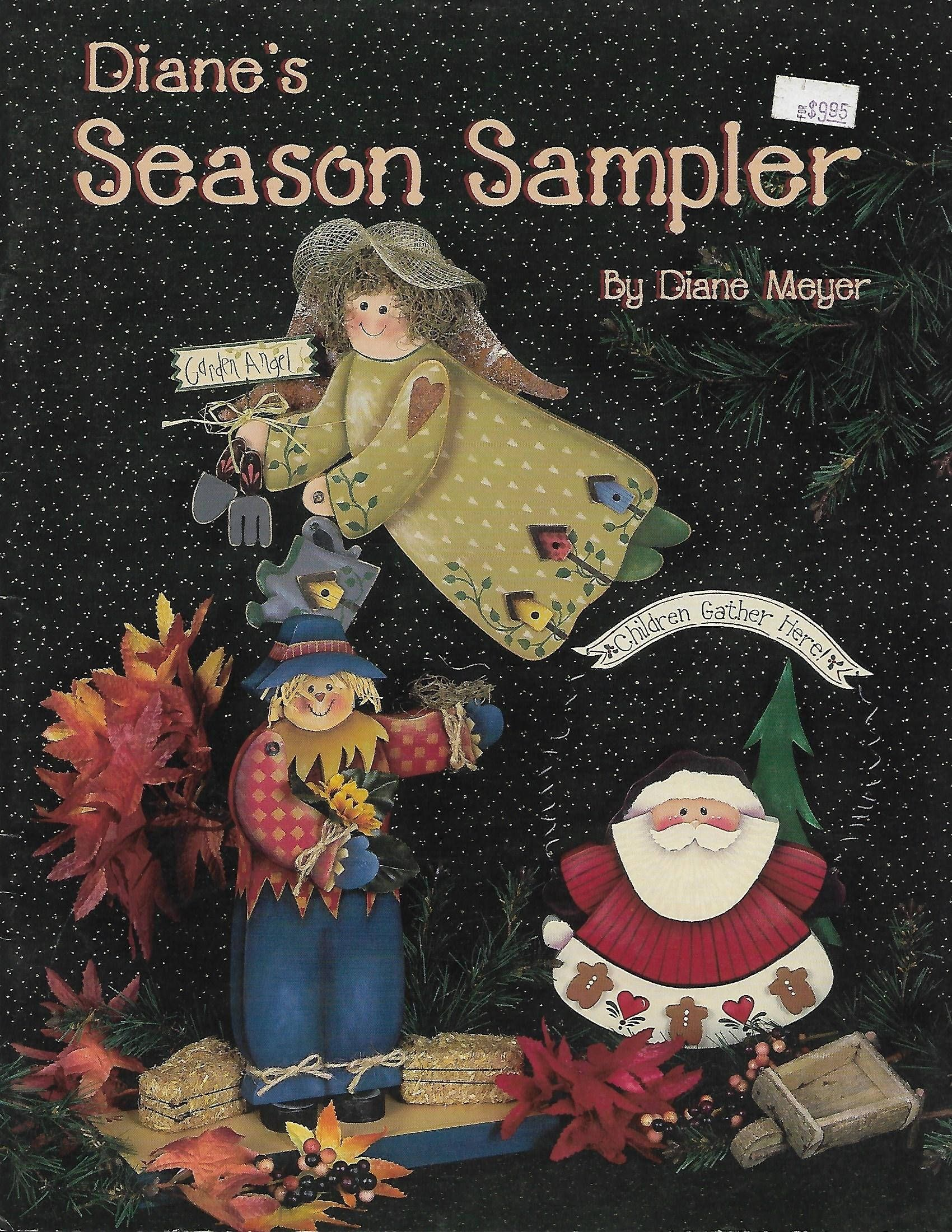 Diane S Season Sampler By Diane Meyer Tole Painting Book Tole
