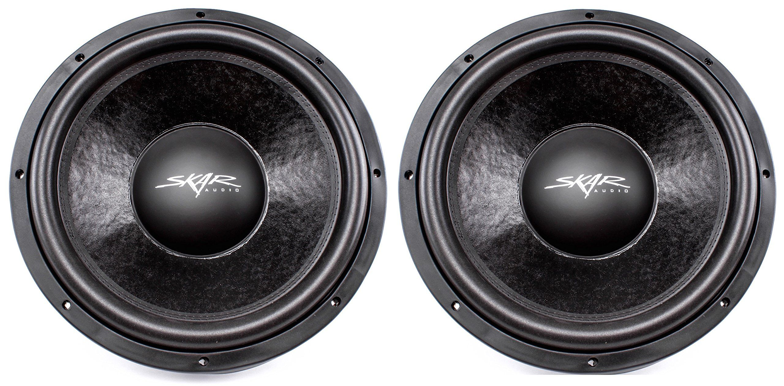 skar audio ddx d w max power dual car subwoofer 2 skar audio ddx 15 d4 15 1500w max power dual 4