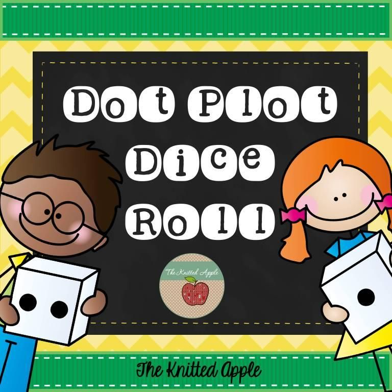 Dot Plot Dice Roll Students Roll Dice And Use Data To Create A