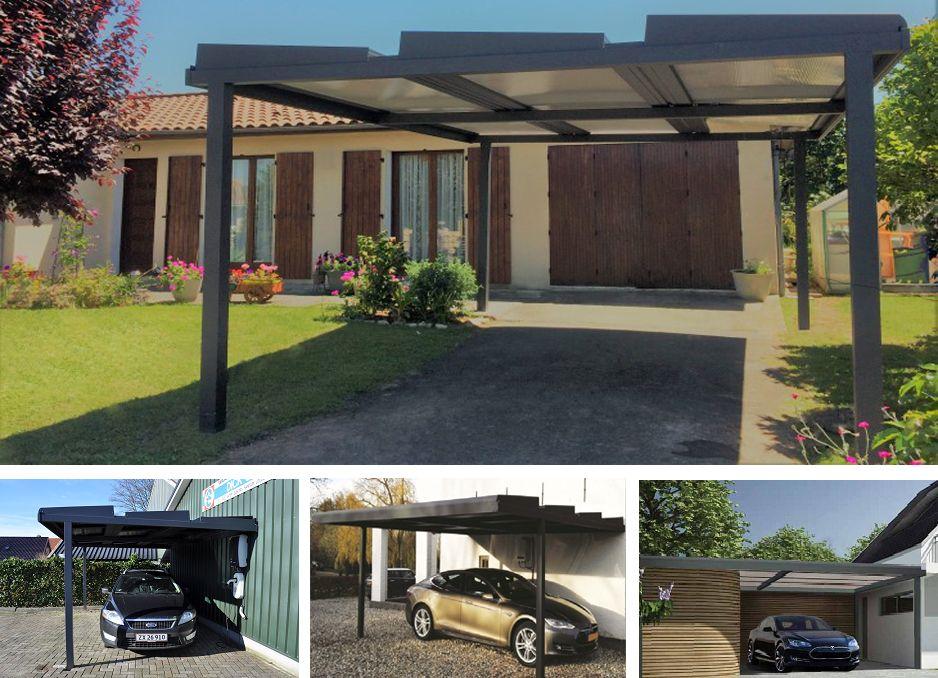 Solcellecarport Til Boligen Kombination Af Gron Energi Og Funktion Carport Ideer Gron Bygning