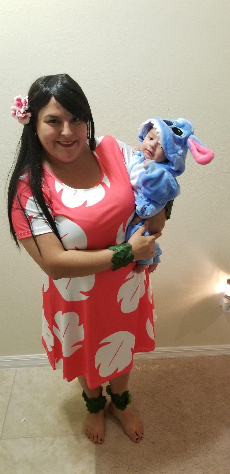 Stitch Costume Baby Lilo Stitch Halloween Fancy Dress