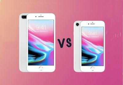 Iphone 8 Vs Iphone 8 Plus Full Comparison Iphone 8 Vs Iphone 8 Plus Display Sizes Cameras Battery Life Specs Design Ram Pro Iphone 8 Plus Iphone Iphone 8