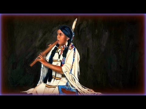 Native American Flute And Water Creek Native American Flute Music Native American Flute American Indian Music