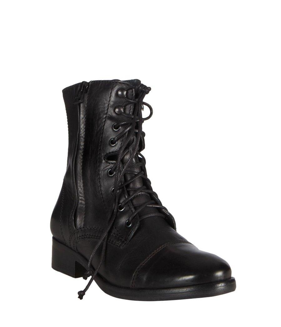 Gloss Military Zip Boot, Women, Boots & Shoes, AllSaints Spitalfields