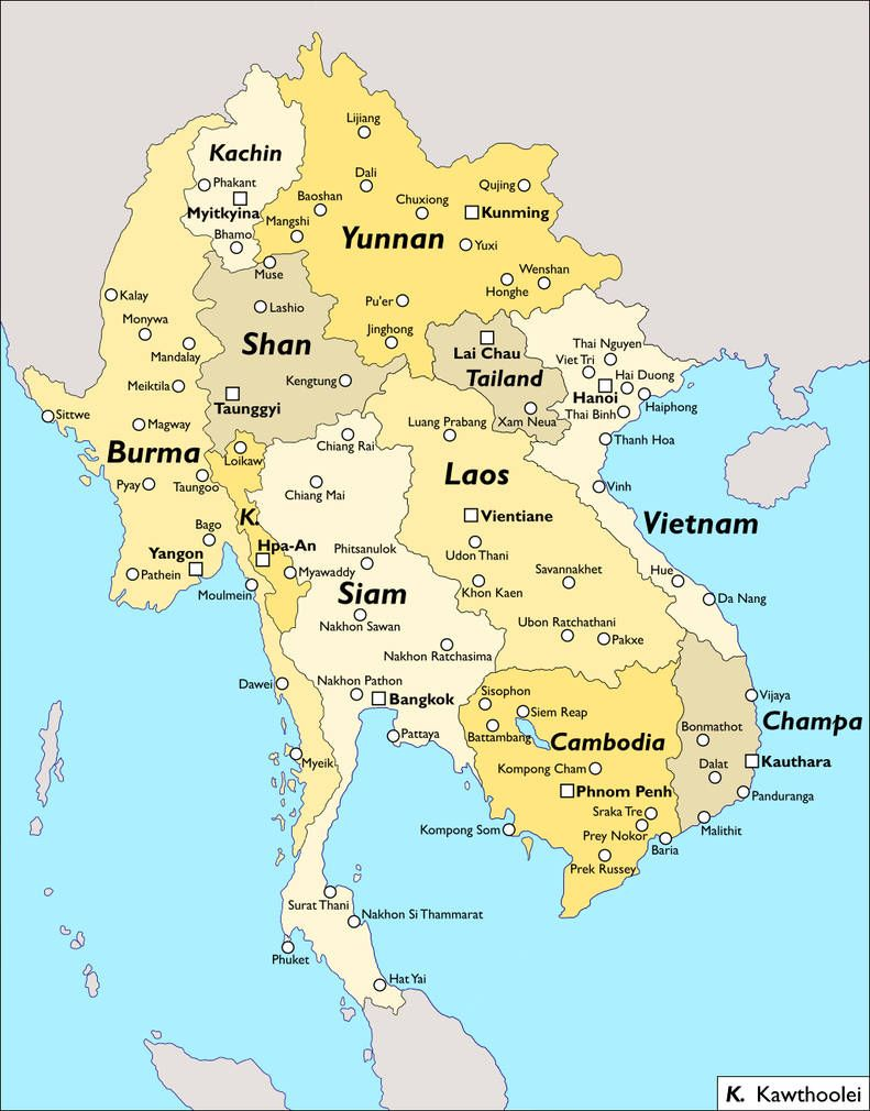 Another Southeast Asia By Keperry012 Asia Map Southeast Asia Vietnam Map
