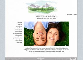 The Knot Wedding Websites.The Knot Com Has A Free Mountain Wedding Website The Wedding