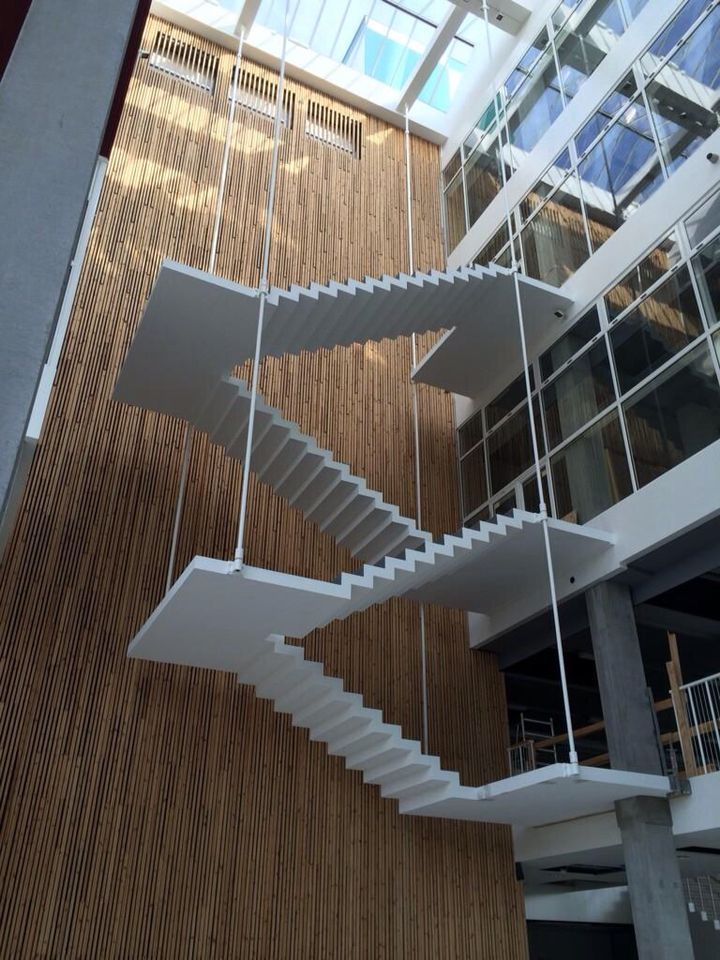 Best Hanging Concrete Staircase Concrete Staircase Staircase Architecture Staircase Design 400 x 300