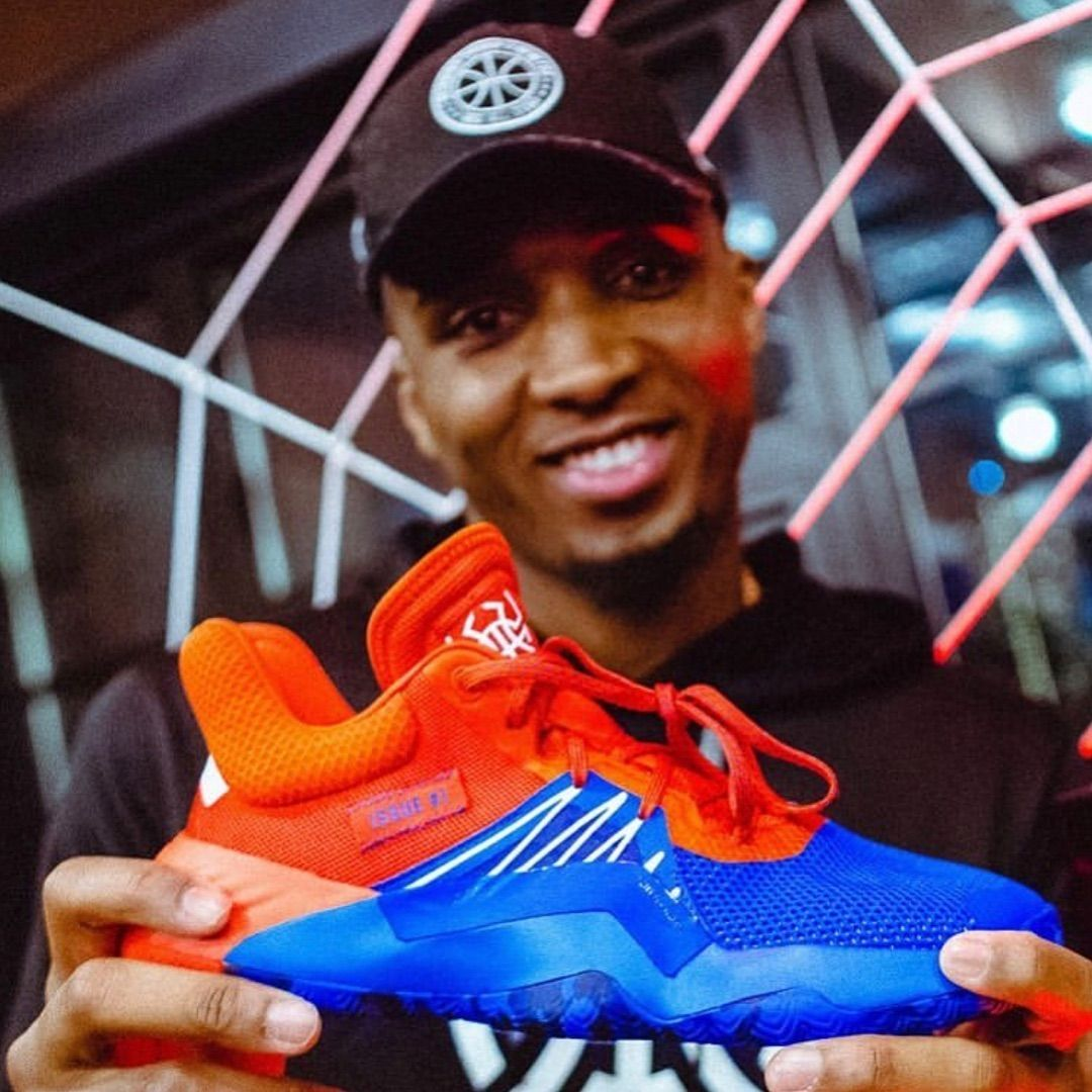 a04894e6f9e Looks like we have a new sneaker to look forward to come 2019. Congrats to   spidadmitchell on your first signature shoe with  adidashoops !