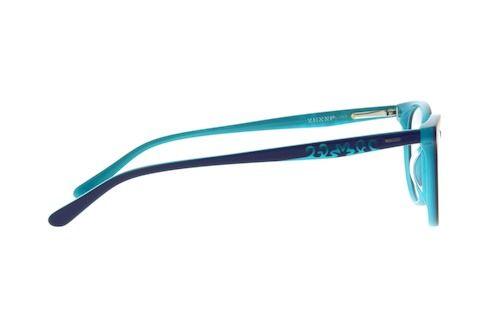 f310970eced7 Zenni Womens Cat-Eye Prescription Eyeglasses Blue Plastic 106116 ...