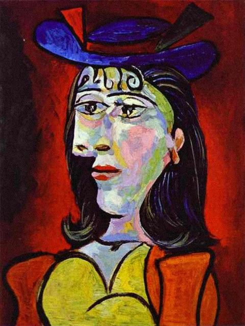 Picasso, Young Girl