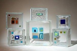 Glass Block Tiles - 5 Glass Block Window, Shower & Wall Design Trends & Ideas for 2013