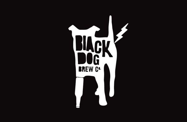 Black Dog Retail Store by Matt Hammond, via Behance. Ejemplo de buena identidad